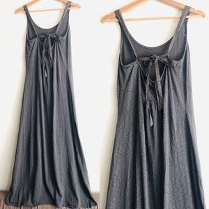 Saturday Sunday Anthropologie strappy maxi dress